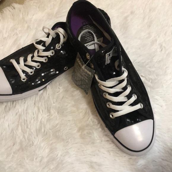 black converse womens size 11